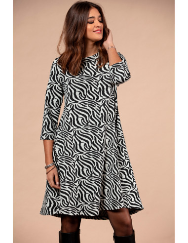 ZOILA - DRESS - ZEBRA